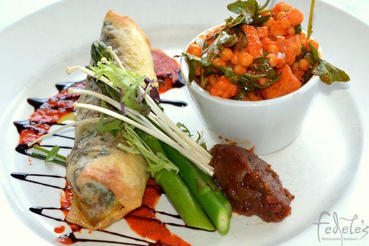 ZUCCA INVOLTINI - Lunch / Dinner Spring/Summer 2014/2015 #fedeles #fedelesristorante #vegetarian