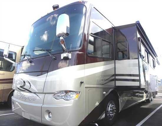 Tiffin Allegro Bus diesel motorcoach RV exterior of coach at Stoltzfus RV