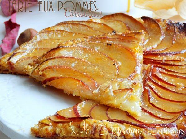 tarte aux pommes caramélisées -Apples Pie