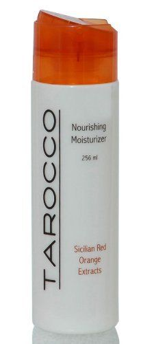 Tarocco Moisturzer 8.5 oz Baronessa Cali by Baronessa Cali - Tarocco. $24.60. Tarocco Moisturizer is a wonderful rich hand and body moisturizer for all skin types.. high in antioxidants. This is a wonderful mixture of Italian Olive Oil and Sicilian Red (Blood) Oranges. It is a rich blend of moistuirzer and antioxidants.