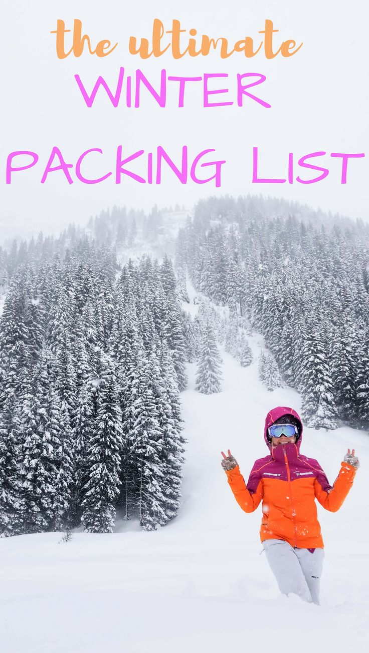 The ultimate winter packing list for cold weather travel. Including carry on tips, weekend tips, Europe travel tips, all for the snow in the country or big cities.