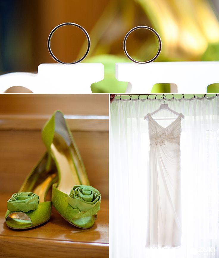 Green Wedding Shoes | ZukiStudio Portfolio
