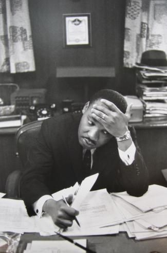 martin luther king, 1961 by henri cartier-bresson