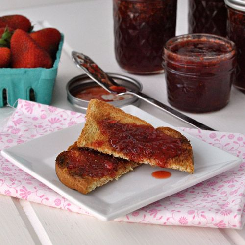 Strawberry Chipotle Jam | Recipes to try | Pinterest