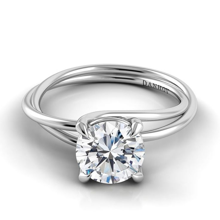 Danhov Eleganza Braided Engagement Ring ZE100. Love this setting and this ring! I could see this on my hand!