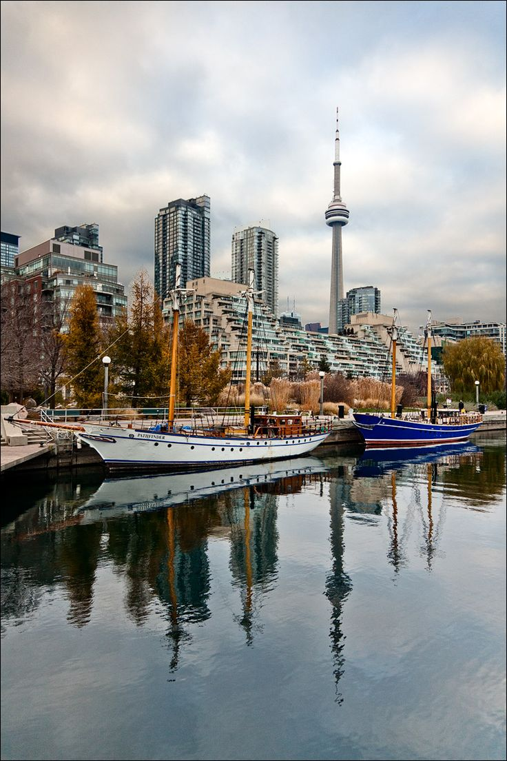 Waterfront, Toronto, Canada, Love the CN Tower, been there many times.