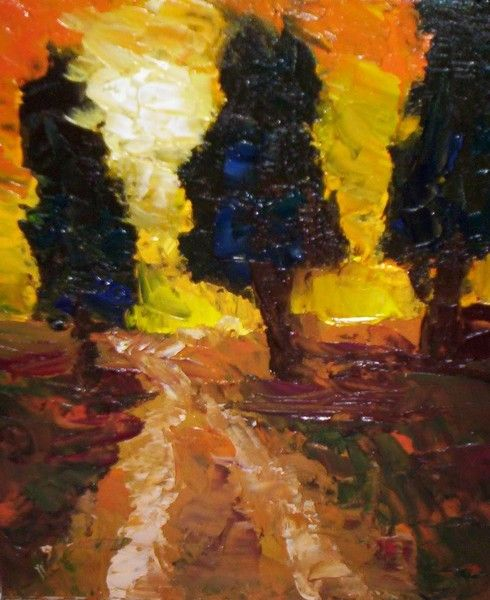 country lane by jesi evans | ArtWanted.mobi