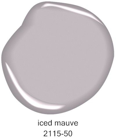 Benjamin Moore Iced Mauve 2115-50