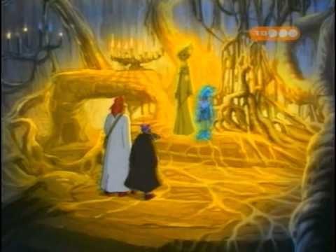 Argai and Barnaby meet fairy Melusine.