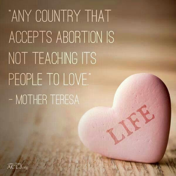 Allowing abortion to be legal is thoughtless and immoral