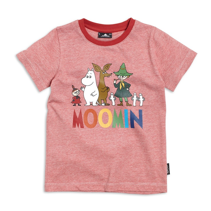 T-shirt, Red, Moomin, Kids | Lindex