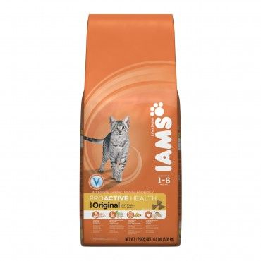 Iams Cat Adult Chicken 3kg - Chicken based premium food for cats with a balanced diet & optimim nutrient intake.