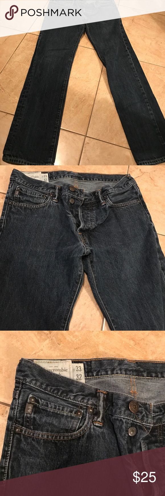 Men's Abercrombie and fitch jeans 33 x 32 Men's Abercrombie and fitch jeans 33 x 32 Abercrombie & Fitch Jeans