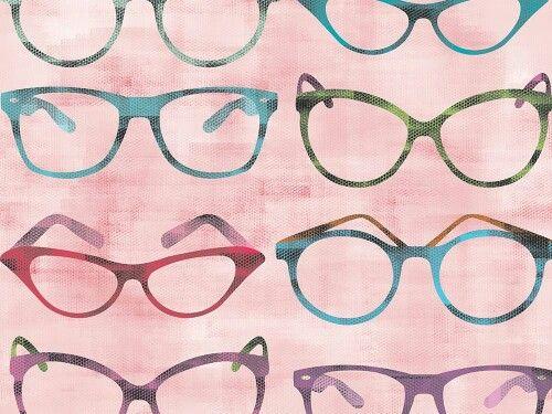 WZÓR DNIA: coś dla okularników...i nie tylko  - Okulary retro  http://cottonbee.pl/tkaniny/vintage/6223-okulary-retro.html