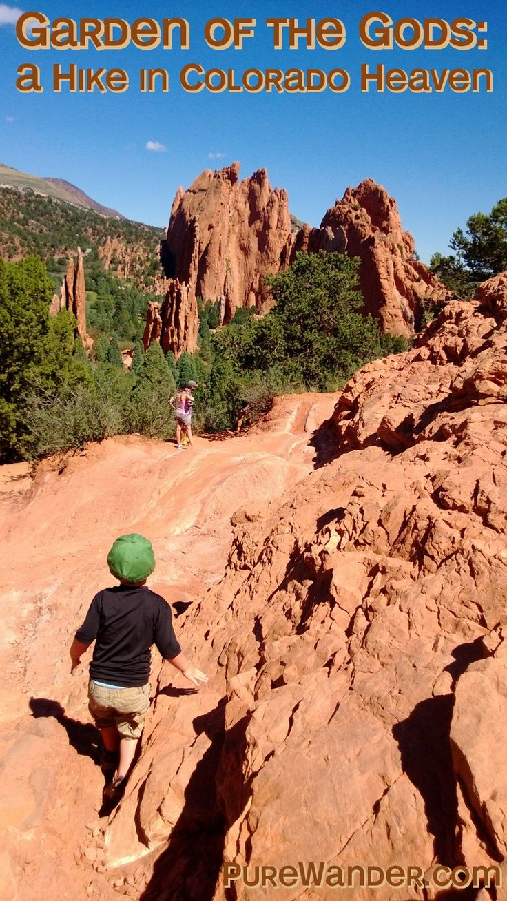 A family vacation at Garden of the Gods, Colorado, traveling with kids, usa road trip ideas