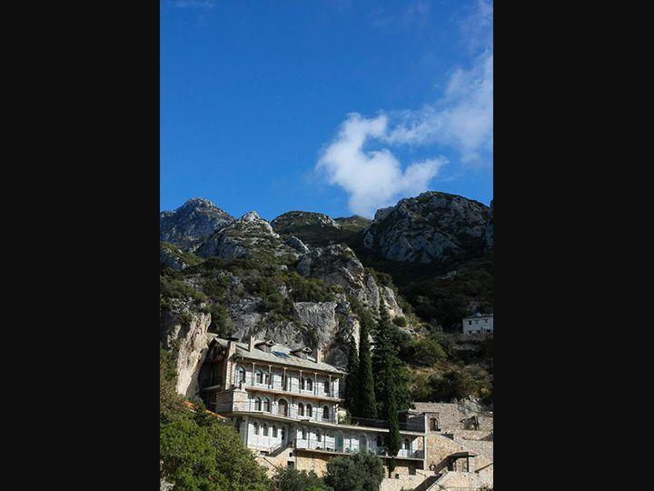 Άγιον Όρος - Ιερά Καλύβη Κοιμήσεως της Θεοτόκου