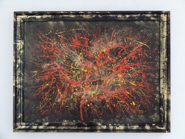 the Egoist - PsyArt by Petr Jáchym 68x52cm , acrylic on carton in frame www.petrjachym.cz (for sale) Abstrakt