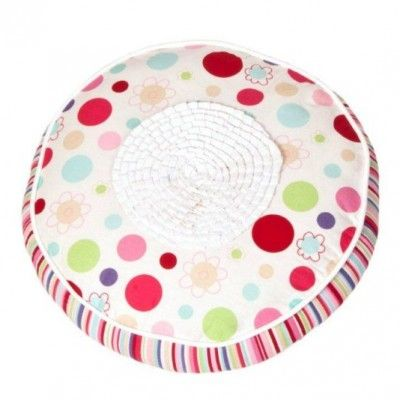 Lucy Round Ruffle Cushion