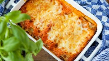 Cannelloni met spinazie, feta en pijnboompitten