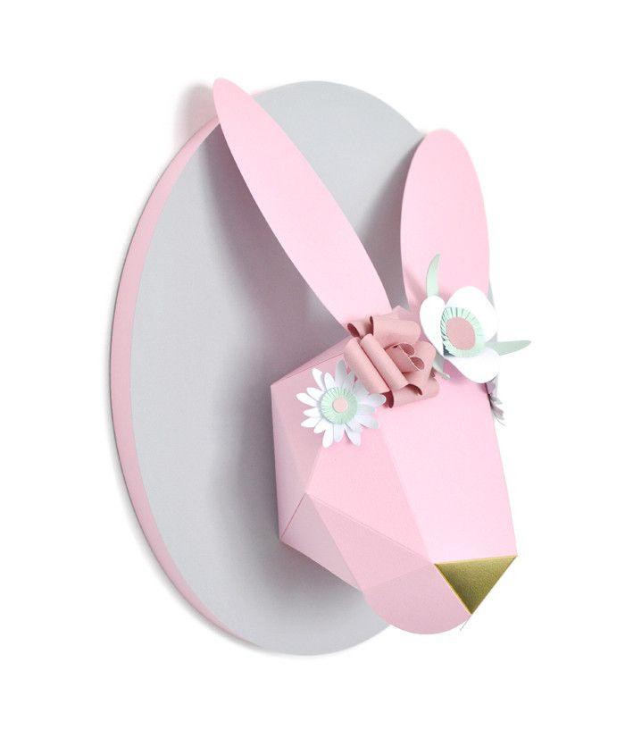 Custom Decorated Bunny