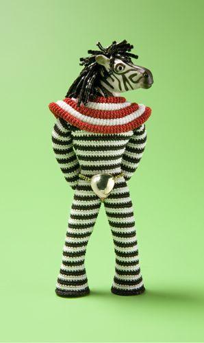 Super Freak Zebra by Felieke van der Leest | jewellery & objects