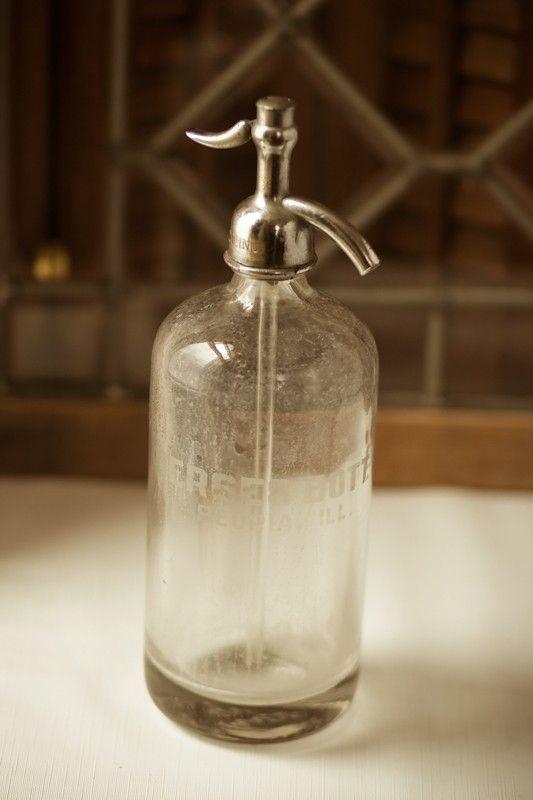 Vintage Derses Seltzer Bottle