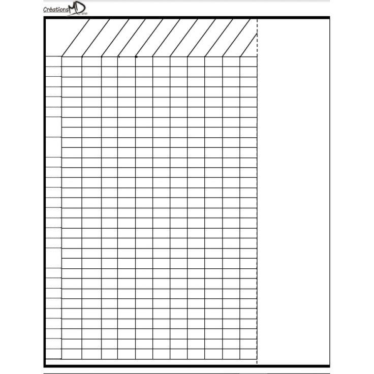 Grille de relevé de notes (MODIFIABLE)