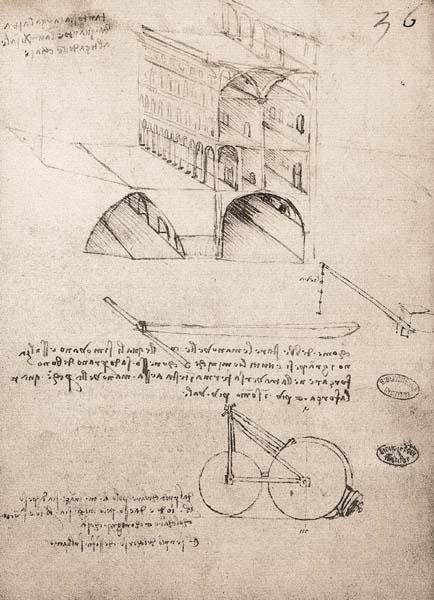 LEONARDO DA VINCI, La Città Ideale (1487-1490), Milano #Utopia