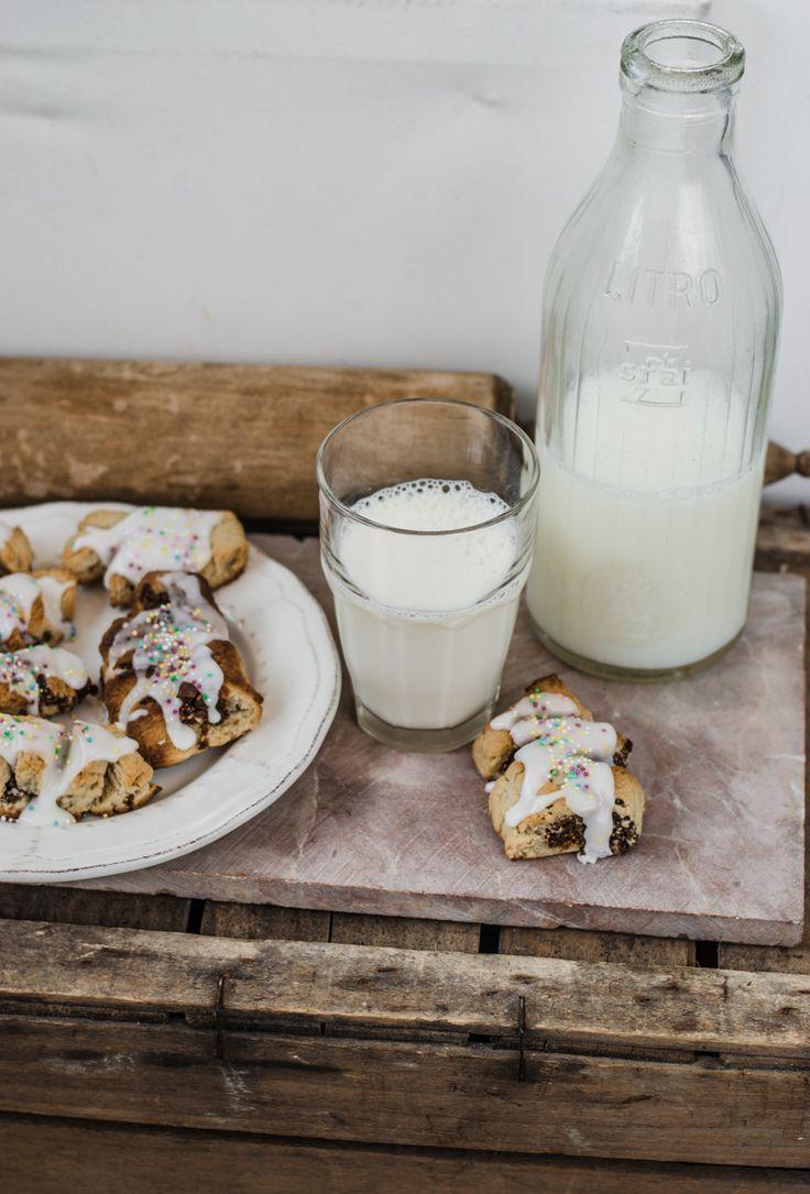 Biscotti siciliani con i fichi buccellati o vucciddrati