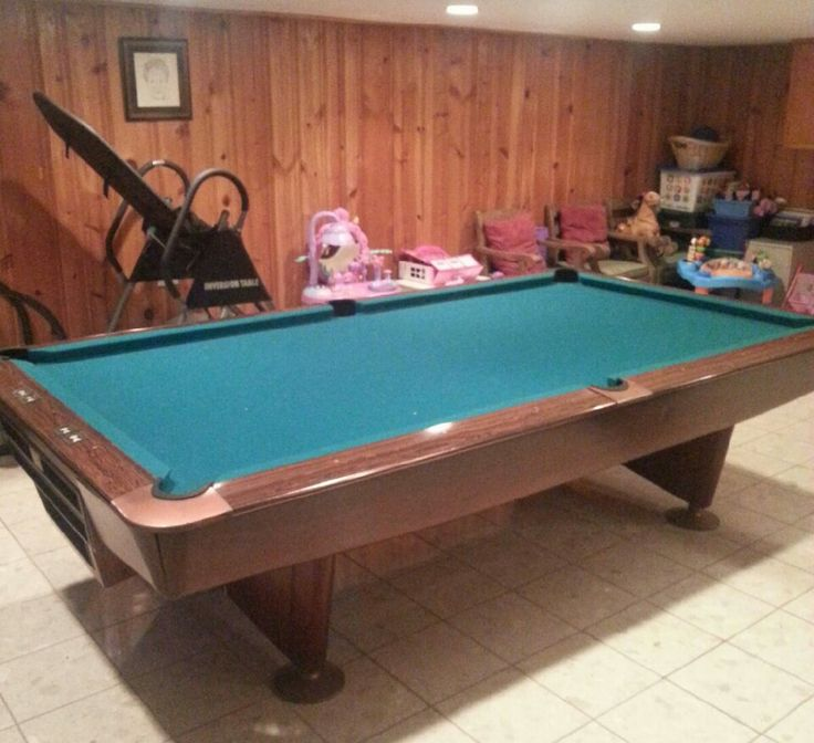 Crown Pools Inc: Brunswick Gold Crown III Pool Table For Sale. Sold
