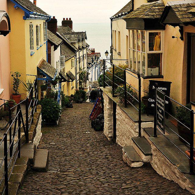 Clovelly Devon England