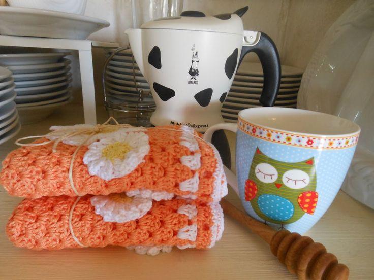 Twolittlebirds: La colazione è servita ! - Tovagliette all' uncinetto