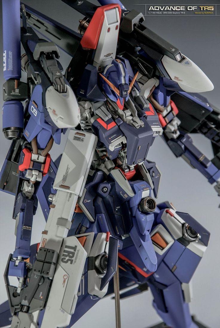 Custom build hguc 1 144 orx 005 gaplant tr 5 advanced gundam kits collec - 5 5 designers bernardaud ...