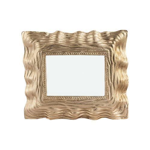 Archon Gold Square Mirror