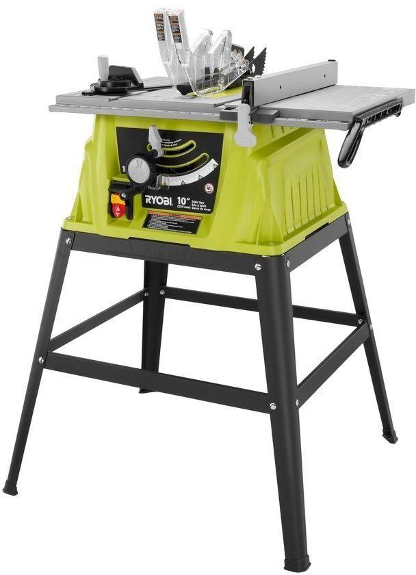 Ryobi 15-Amp 10 In. Portable Table Rip Cross Cut Saw Power Tool #RYOBITechtronicIndustriesCoLtd