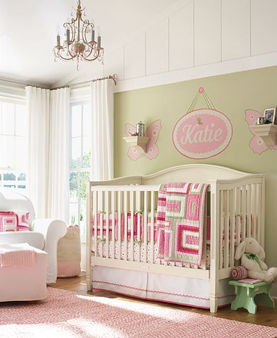 best 25 pink and green nursery ideas on pinterest green nursery girl girl nursery colors and. Black Bedroom Furniture Sets. Home Design Ideas