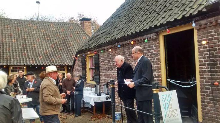Stuk van Kunst in het Trapjeshuis in Veldhoven