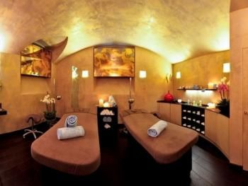 Zona massaggi Massages area