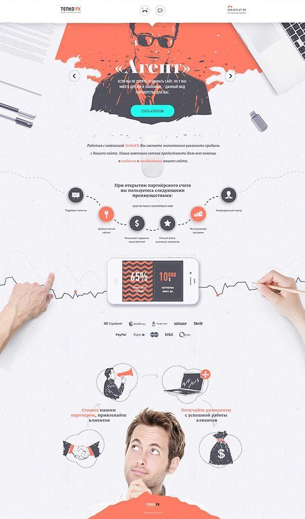 Unique Web Design, Tenko FX #webdesign #design (http://www,pinterest.com/aldenchong/)
