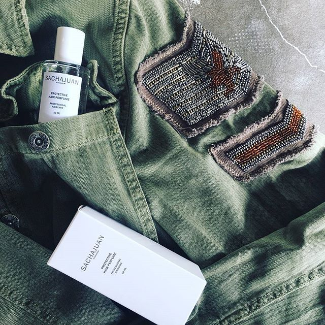 ZADA ESSENTIALS | @sachajuan Protective Hair Perfume on the go...  Jump on our FB page @ZADAHAIR for more info and hair facts from the girls in the salon!    #hairperfume #hairrepair #protectivetreatment