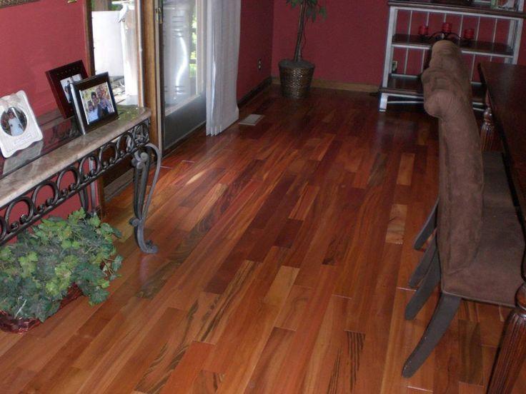 builddirect u2013 hardwood exotic south american collection u2013 natural tigerwood living room view