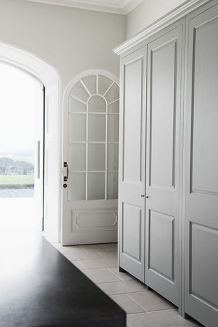 Luxury Classical Kitchen - John Adams House 4.  possibility of pantry being full size painted doors.