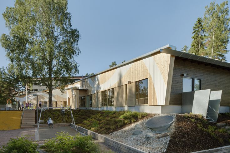 Omenapuisto Day-Care-Center,© Jussi Tiainen