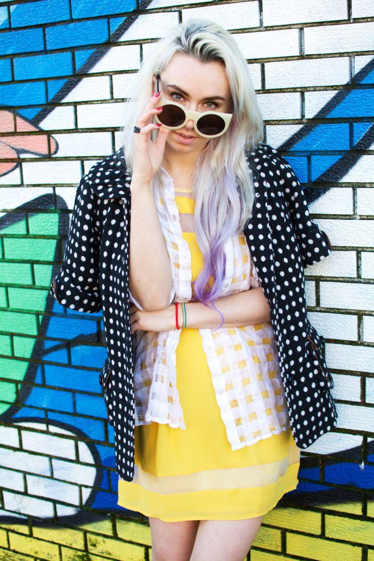 Jessica Luxe: Womens Designer Fashion Super Bold Round Cat Eye Sunglasses 9278