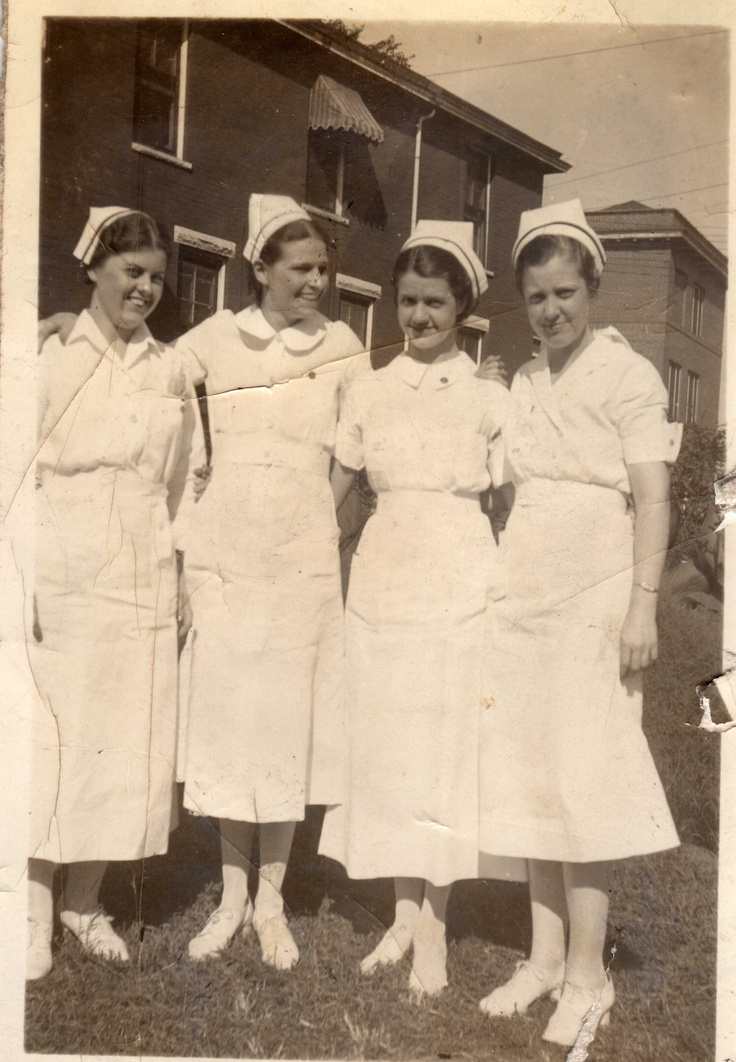 1932 nursing students from c o huntington wv - Halloween Stores In Huntington Wv