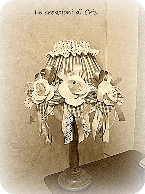 99 best images about paralumi e lampade shabby on pinterest for Bougeoir shabby chic