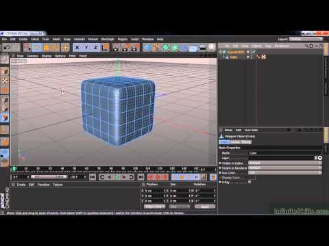 Cinema 4D Lite Tutorial   Modelling Surfaces With HyperNURBS - YouTube
