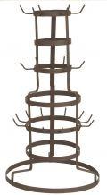 Mokkenboom  Hieraan kan je al je mokken kwijt.  30 x 50 x 54 cm  Kleur: Bruin  Materiaal: ijzer  http://www.o-lijf.com/a-27314047/keukenaccessoires/mokkenboom/