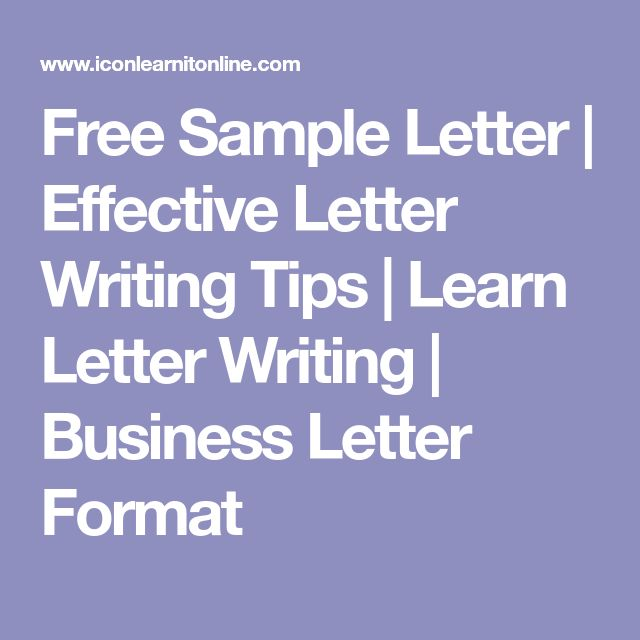 25+ de idei unice despre Letter format sample pe Pinterest Cv - sample business letters format