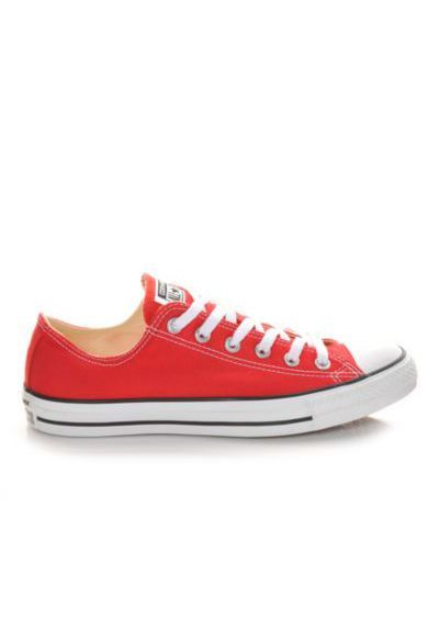 Red Converse Chuck Taylor All Star Canvas Ox Core / @ShoeCarnival #shoecarnival